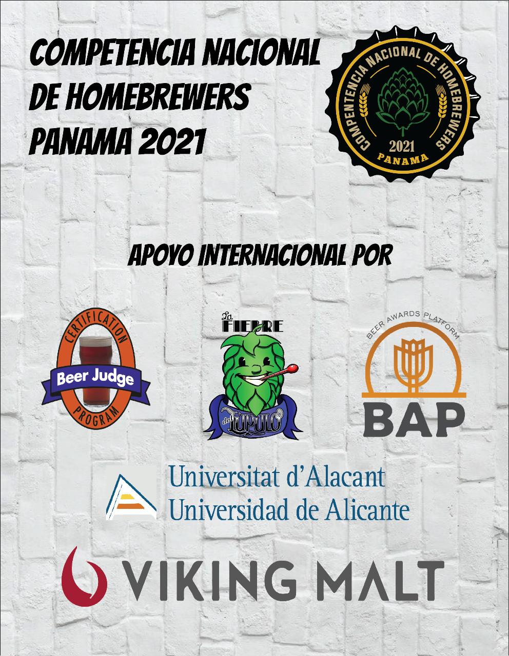 Competencia Nacional de Homebrewers Panamá 2021